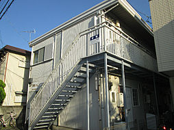 神奈川県川崎市中原区小杉御殿町2丁目の賃貸アパートの外観