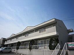 愛知県名古屋市緑区大清水3丁目の賃貸アパートの外観
