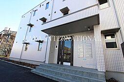 埼玉県草加市谷塚1丁目の賃貸アパートの外観