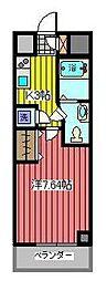 アルファコート西川口6[9階]の間取り