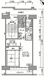 稲毛海岸駅前プラザ[10階]の間取り