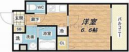 S-RESIDENCE新大阪Ridente[8階]の間取り
