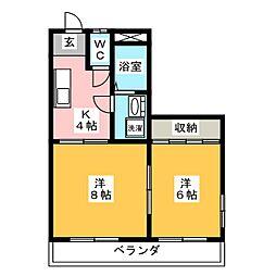 ライフコア 29[2階]の間取り