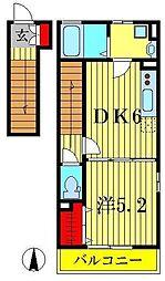 ハーモニーガーデン[2階]の間取り