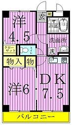 東京都足立区古千谷本町2丁目の賃貸マンションの間取り