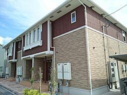 鳥取県米子市両三柳の賃貸アパートの外観
