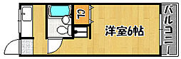 兵庫県明石市大蔵本町の賃貸アパートの間取り