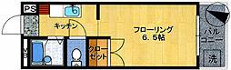 アミューズメント原田[3階]の間取り