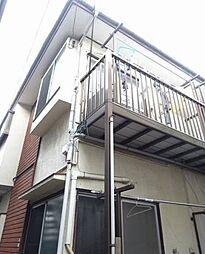 東京都世田谷区等々力5丁目の賃貸アパートの外観
