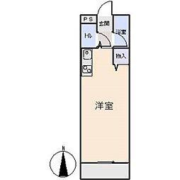 アメニティ天野[3階]の間取り