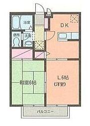 サンライズコース都筑[2階]の間取り
