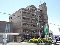 愛知県あま市新居屋辻畑の賃貸マンションの外観