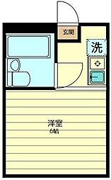 美幸ハウス[1階]の間取り