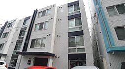 北海道札幌市豊平区中の島一条1の賃貸マンションの外観