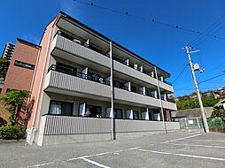 兵庫県神戸市須磨区車字下大道の賃貸マンションの外観