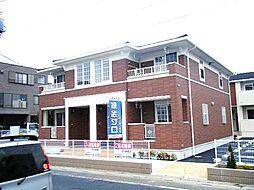 埼玉県春日部市梅田本町1丁目の賃貸アパートの外観