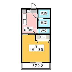 ESPRIT M[2階]の間取り