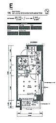 シーフォルム南池袋[7階]の間取り