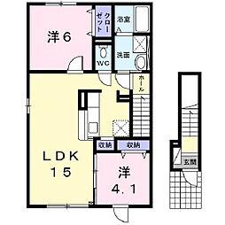 Hasukappu[2階]の間取り