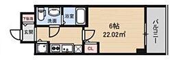S-RESIDENCE北浜[509号室号室]の間取り