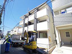 埼玉県朝霞市三原3の賃貸アパートの外観