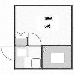ピアコート前田[3階]の間取り