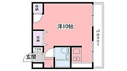 宝城ビル[407号室]の間取り