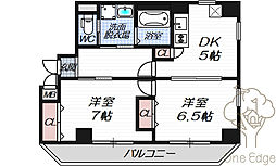 Luna Crescente Tenjin Residence[2階]の間取り