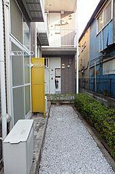 東京都大田区仲池上1丁目の賃貸アパートの外観