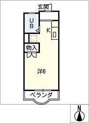 アーバンライフK[2階]の間取り