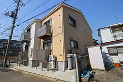 千葉県流山市向小金3の賃貸アパートの外観