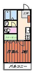 Joy of Life鶴川[6階]の間取り
