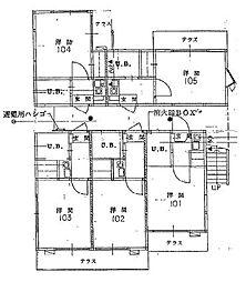 間取図(1F 2F共通)