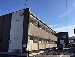 福岡県北九州市小倉北区日明1丁目の賃貸アパートの外観