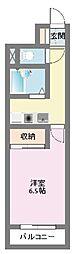 ハイツ岩本[305号室]の間取り