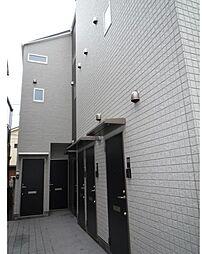 東京都北区岸町1丁目の賃貸アパートの外観