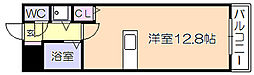 アザレアハイツ江崎[306号室]の間取り