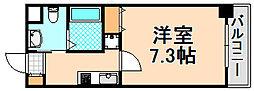 兵庫県伊丹市南本町3丁目の賃貸マンションの間取り