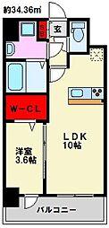仮)弥永5丁目マンション[507号室]の間取り