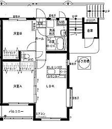 Maison de 太陽[401号室]の間取り