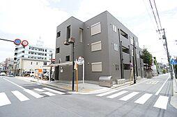 東京都江戸川区東小岩5丁目の賃貸アパートの外観