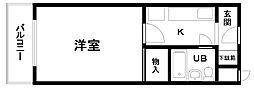 山一マンション下松貮番館[303号室]の間取り