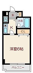 碑文谷壱番館[2階]の間取り
