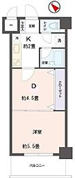 リビングステージ東仙台[1階]の間取り