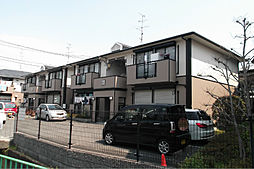 大阪府茨木市十日市町の賃貸アパートの外観
