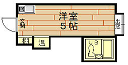 ラパンジール本田2[4階]の間取り