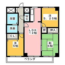 HANAMIZUKI向台[2階]の間取り