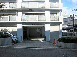 大阪市中央区玉造2丁目の機械式駐車場