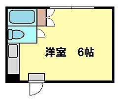 東京都北区十条仲原1の賃貸アパートの間取り