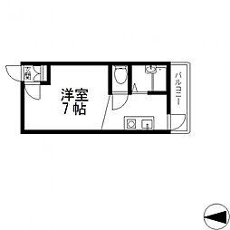 清洲プラザ高井田(キヨス)[402号室号室]の間取り